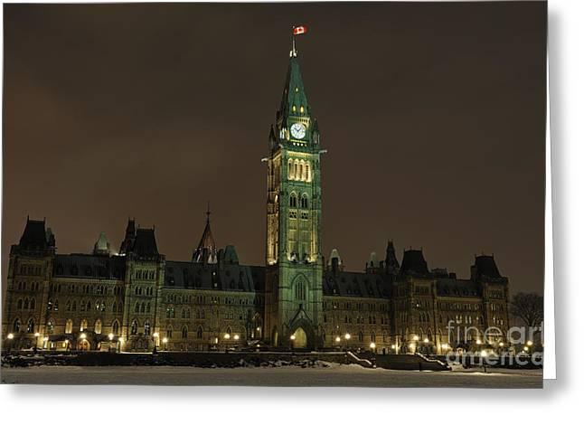 Parliament Hill Greeting Card