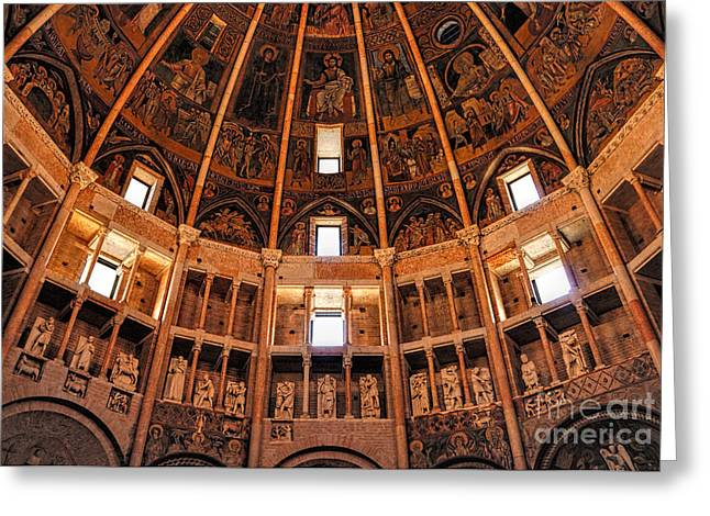 Parma Baptistery Greeting Card