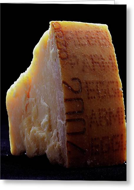 Parmesan Cheese Greeting Card by Romulo Yanes