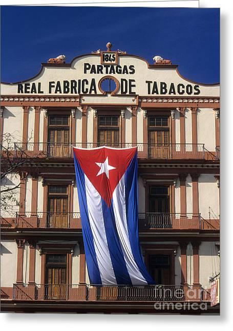 Partagas Cigar Factory Greeting Card