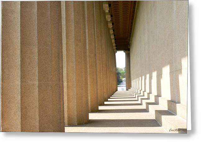 Parthenon1 Nashville Tn Greeting Card