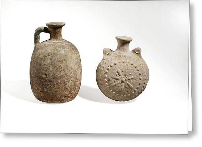 Parthian Ceramics Greeting Card by Science Photo Library