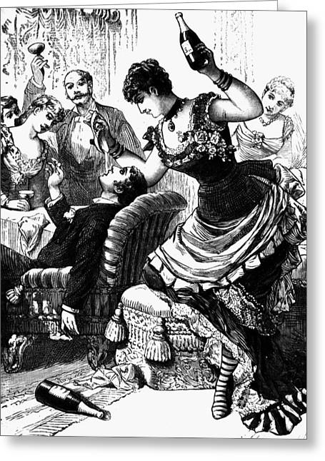 Party, 1886 Greeting Card by Granger
