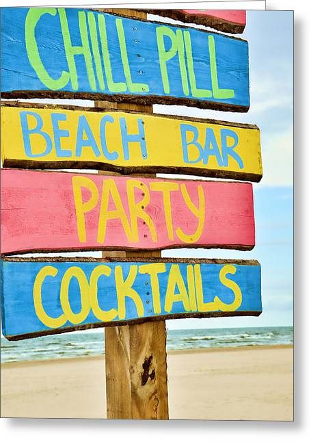 Party Cocktails Greeting Card by Gynt