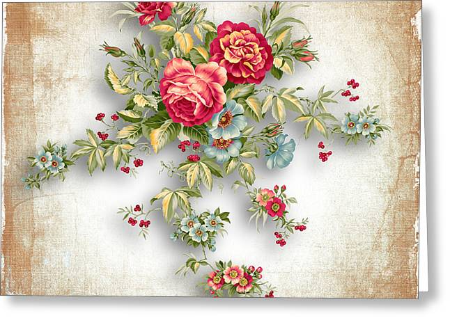 Party Of Roses  Greeting Card by Mark Ashkenazi