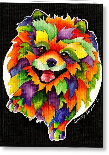 Party Pom Greeting Card