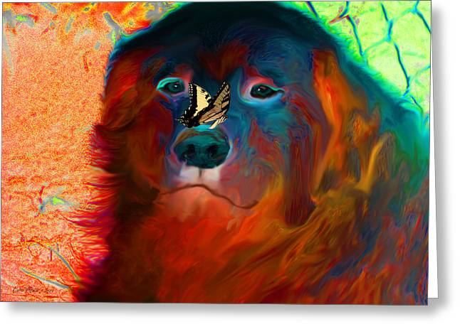 Party Pyrenees Greeting Card