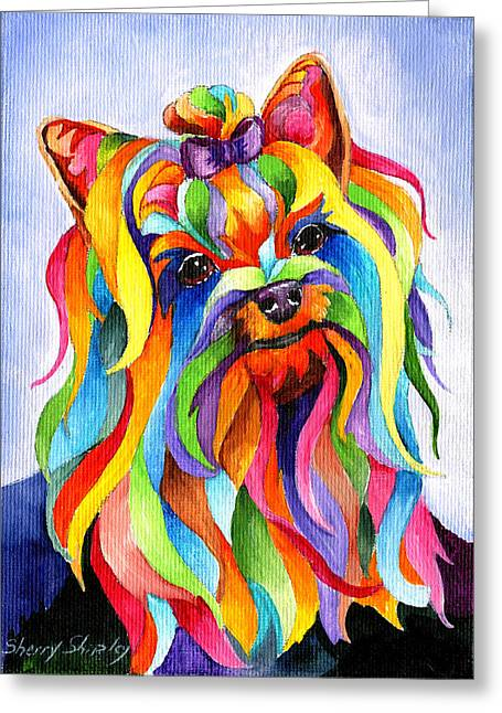 Party Yorky Greeting Card