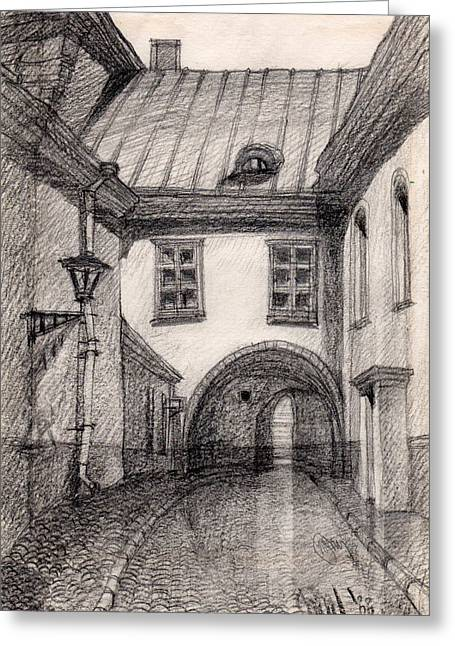 Passage Greeting Card by Serge Yudin