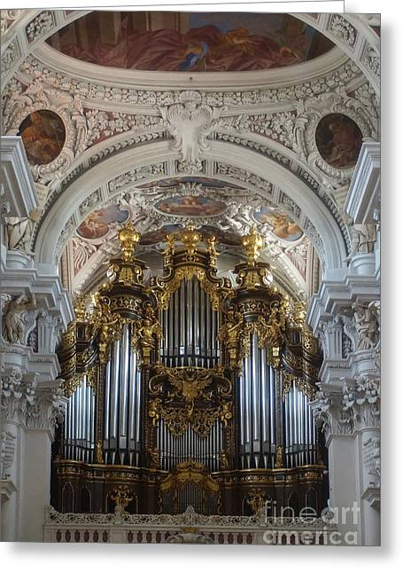 Passau Cathedral Saint Stephan 2 Greeting Card