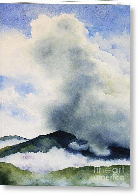 Passing Storm On Mt. Diablo Greeting Card