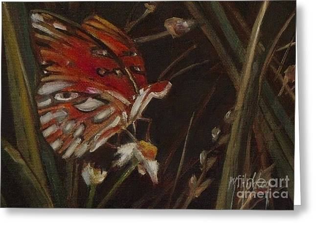 Passion Butterfly - Gulf Fritillary Greeting Card