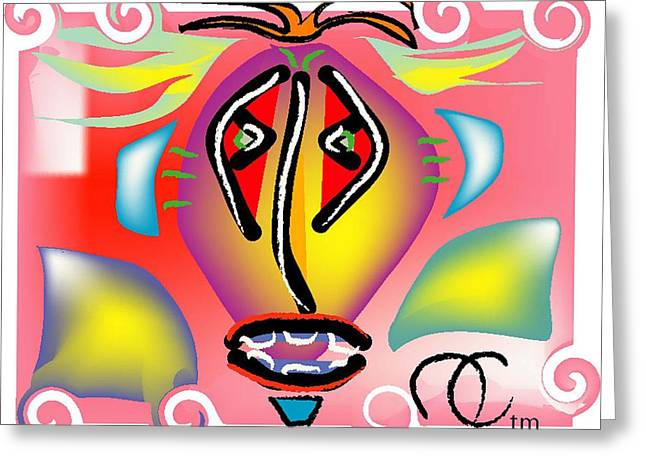 Passion Fruit Greeting Card by Andy Cordan