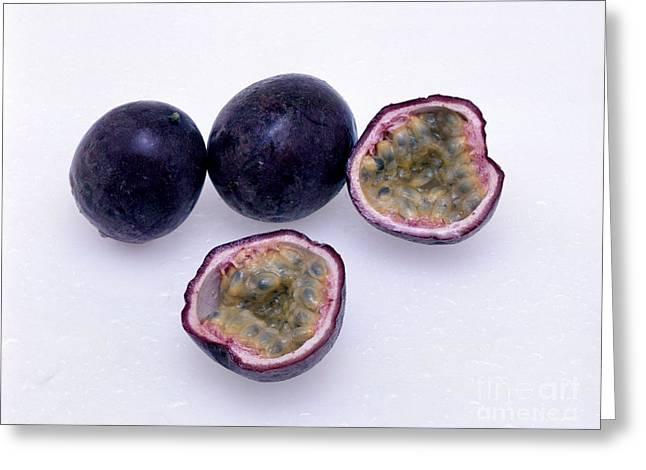 Passion Fruit Greeting Card by G. Buttner/Okapia