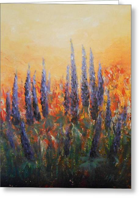 Passion Greeting Card by Jane  See