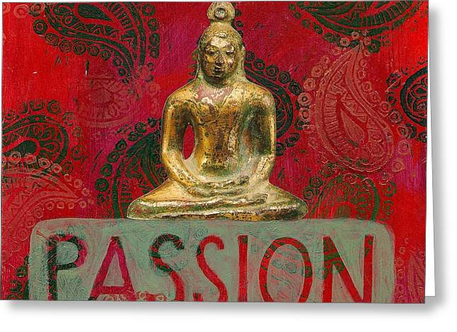 Passion Greeting Card by Jennifer Mazzucco