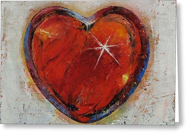 Passion Greeting Card by Michael Creese