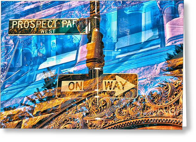 Passion Nyc Prospect Park Greeting Card by Sabine Jacobs