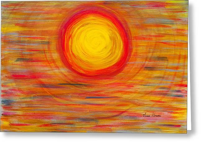 Passion Sun Greeting Card