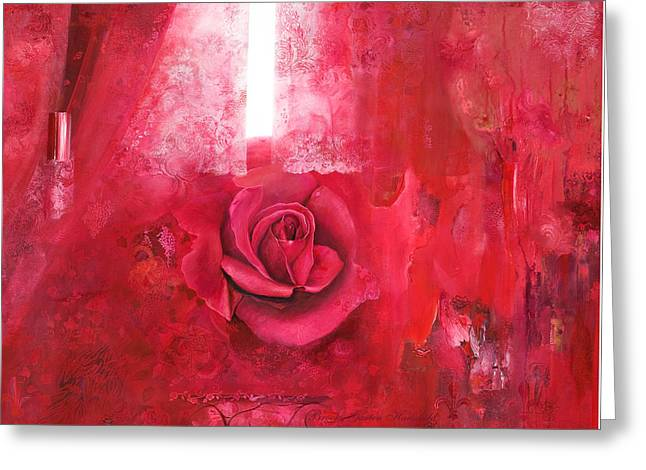 Passionately - Original Art For Home And Office Greeting Card