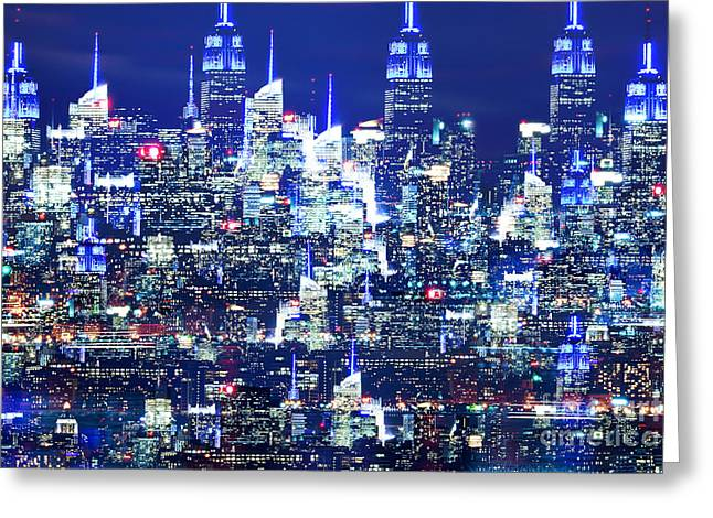 Passion Nyc Empire State Greeting Card
