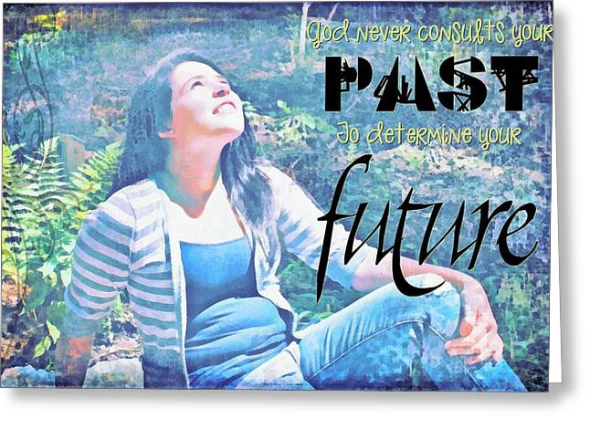 Past And Future Greeting Card