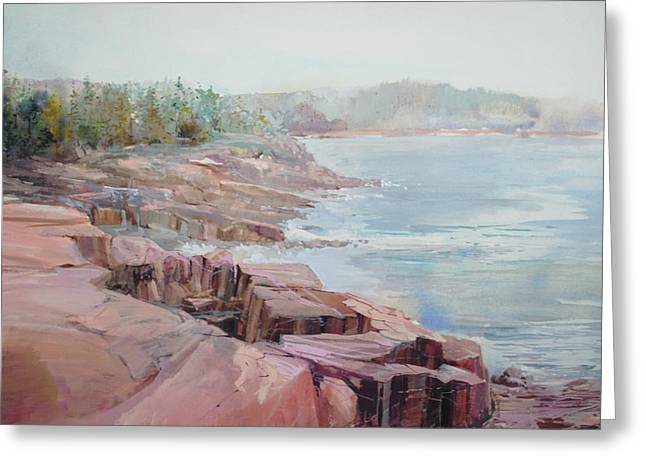 Pastel Cove Greeting Card