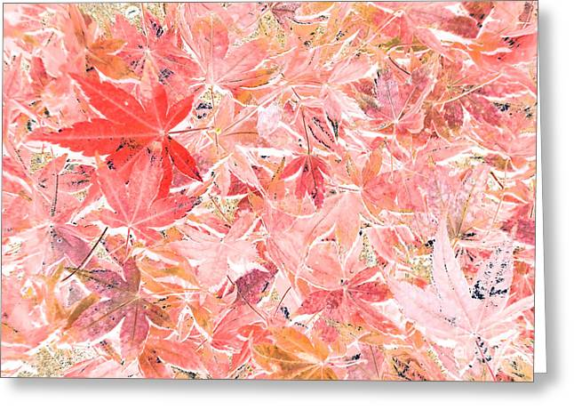 Pastel Impressions Of Autumn By Kaye Menner Greeting Card