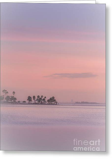 Pastel Islands In The Gulf Greeting Card