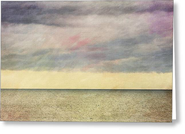 Pastel Sea - Textured Greeting Card