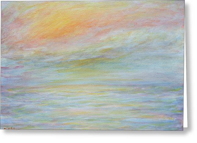 Pastel Sea  Greeting Card