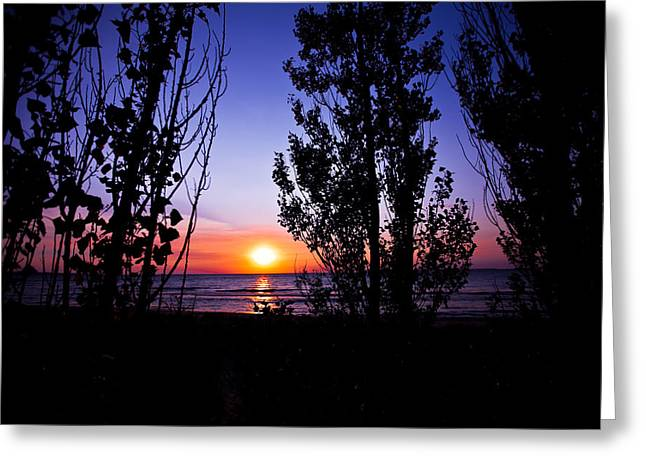 Greeting Card featuring the photograph Pastel Sun by Jason Naudi Photography