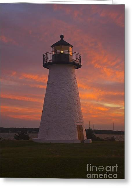 Pastel Sunset At Ned'spoint Greeting Card by Amazing Jules