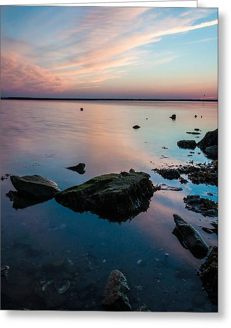 Pastels Greeting Card by Kristopher Schoenleber
