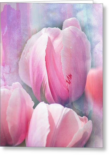 Pastels Of Spring Greeting Card