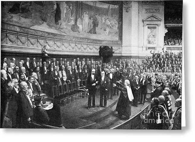 Pasteurs Jubilee Celebrations, 1892 Greeting Card