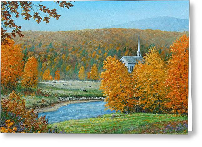 Pastoral Countryside Greeting Card