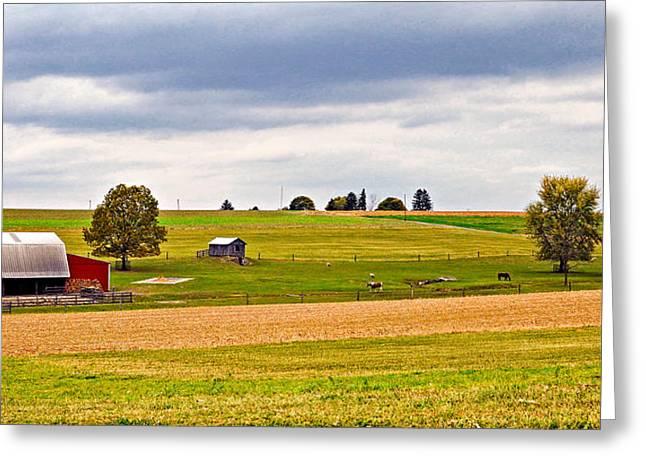 Pastoral Pennsylvania Greeting Card