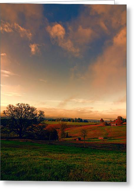 Pastureland Greeting Card