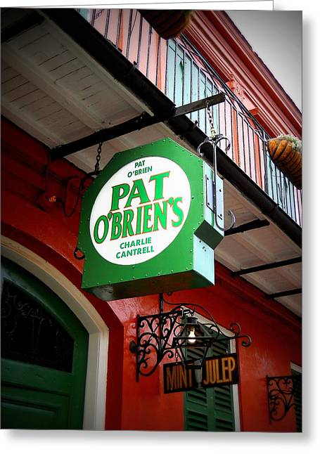 Pat O's Greeting Card by Beth Vincent