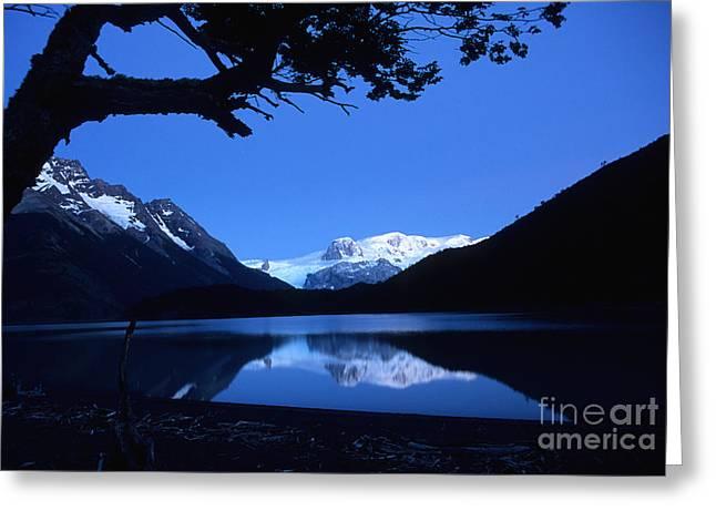 Patagonian Blue Greeting Card