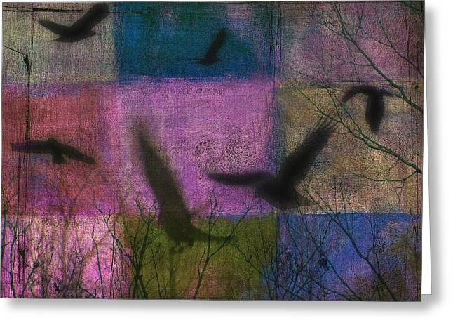 Patched Quilt Greeting Card by Gothicrow Images