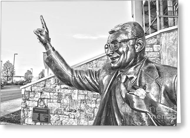 Paterno In Black And White Greeting Card by Tom Gari Gallery-Three-Photography