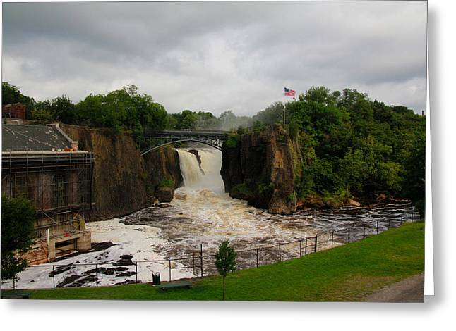 Paterson Great Falls Greeting Card