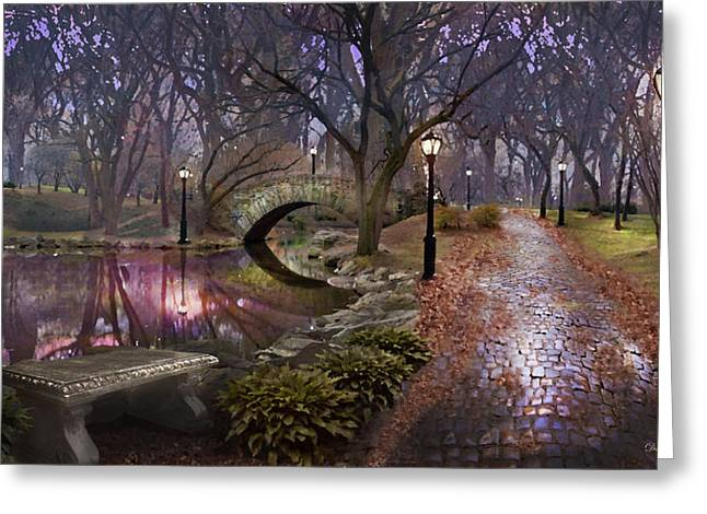 Path Of Inner Peace Greeting Card by David M ( Maclean )
