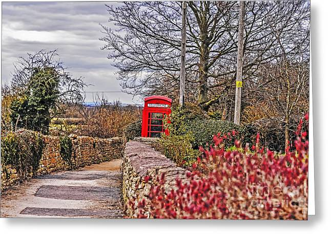 Path Through The Cotswolds Greeting Card
