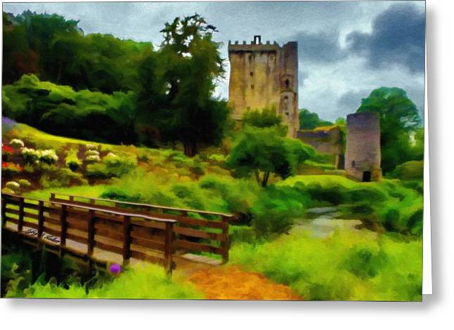 Path To Blarney Castle Greeting Card by Jeff Kolker