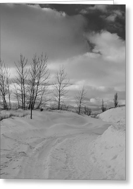 Path To Enlightenment Greeting Card by Dan Sproul