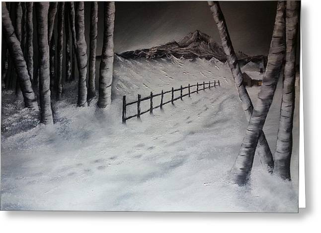 Path To Solitude Greeting Card