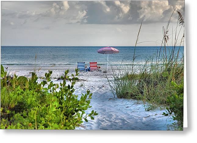 Path To The Beach II Greeting Card